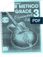Modern Guitar Method Grade 3 Expanded