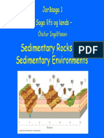2-Sedimentary Rocks and Sedimentary Environments