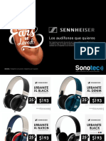 Sennheiser Audifonofinal Final Sonotec