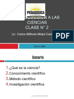 Introduccion a La Ciencias Naturales