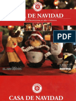 Bernabela a - Casa de Navidad - Muñecos Decoraciones en Tela Y Adornos