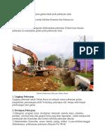 Metode Pelaksanan Pekerjaan Galian Tanah