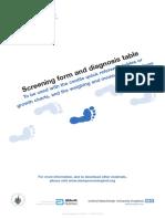 Stamp Screening Form