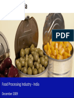 Food Processing Industry in India 2009