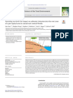 Assessing Sea-level Rise Impact on Saltwater Intrusion Into the Root Zone