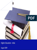 Higher Education in India 2009