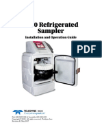 5800 Refrigerated Sampler User Manual