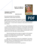 Deped Sec.briones Message