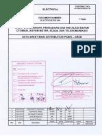 SLS-75-ELE-DS-001 Data Sheet LV Switchgear and MCC - Arun, Rev. 0 - AFC