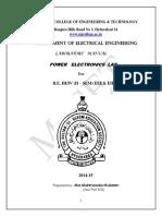 III Eee II Sem Pe Lab Manual(Ee382)