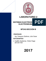 LABORATORIO 2- MT242B