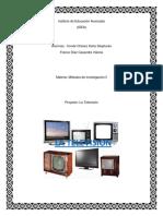 La Televison (Metodos de Investigacion) IDEA