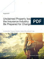 Unclaimed Property Issues in the Insurance Industry FS 17007 003E