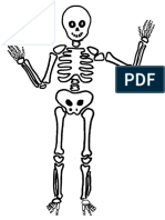 Esqueleto Para Pintar