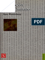 Blumenberg Hans - Descripcion Del Ser Humano(OCR y Opt)