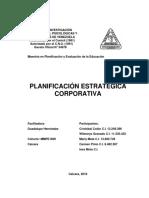 La Planificación Estratégica Coorporativa