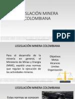 Legislación Minera Colombiana