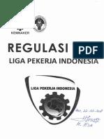Regulasi Liga Pekerja Indonesia