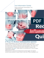 5 Ways to Reduce Inflammation Quickly