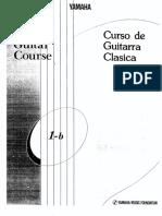 Yamaha Classical Guitar Course 1b