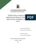 Estudios técnico ptar