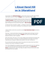 Know About Harsil Hill Station in Uttarakhand