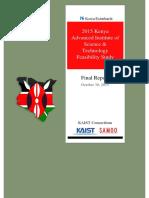 Final Feasibility Study Report KAIST