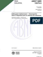 Manuais - Normas - NBR 15575-5 - 2013 - Edificações Habitacionais - Desempenho.pdf
