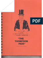 Frank Thompson - The Thompson Pass