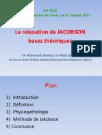 La Relaxation Jakobson- DU TCCE