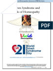 Down Syndrome and Role of Homeopathy