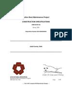 PM 6060 Bullion Beck Mine Maintanence Contract Bid DOGM Utah
