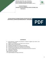 Plan de Trabajo PIP Riego Ranracancha