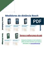 Medidores de distância Bosch www.perfectool.pt Para mais informações contacte-nos pelos telefones 239 095 985 / 91 1111 516 / 93 750 45 47 / 96 9444 228 ou por email geral@perfectool.pt | www.perfectool.pt | A Ferramenta Perfeita