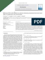 2009 Efficiency of Five Scale Inhibitors on Calcium Carbonate Precipitation