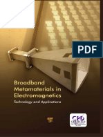 Broadband Metamaterials in Electromagnetics