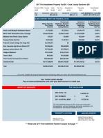 Marketplace of Matteson Tax Bill 2017 Not Paid