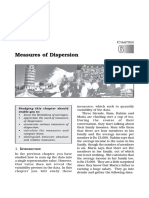 11 Stat 6 Measures of Dispersion