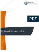 CIS Microsoft SQL Server 2008 R2 Benchmark v1.5.0