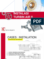 Instalasi Turbin II