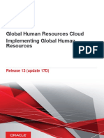 Global Human Resources Cloud Implementing Global Human Resources