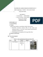 Penetapan NH3 Metode Indofenol