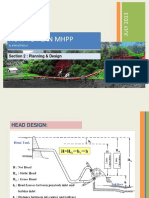 Planning & Design Minihydro Power Plant