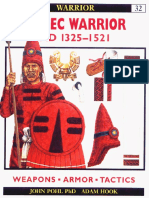 No.32 - Aztec Warrior. 1325-1521 AD