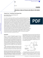 16. Selective Catalytic Etherification of Glycerol Formal and Solketal With Dialkyl Catbonates and K2CO3