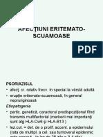 Curs 10 B.eritemato Scuamoase