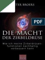 Die Macht der Zirbeldrüse von Dieter Broers