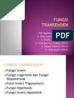 Fungsi Transenden