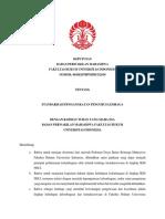 No 3 Tahun 2018 Tentang Standarisasi Pengangkatan Pengurus Lembaga