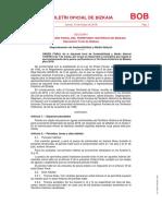 Bizkaia - Normativa de Pesca Continental 2018